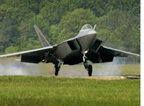 The F-22A stealth fighter         Click image to expand.