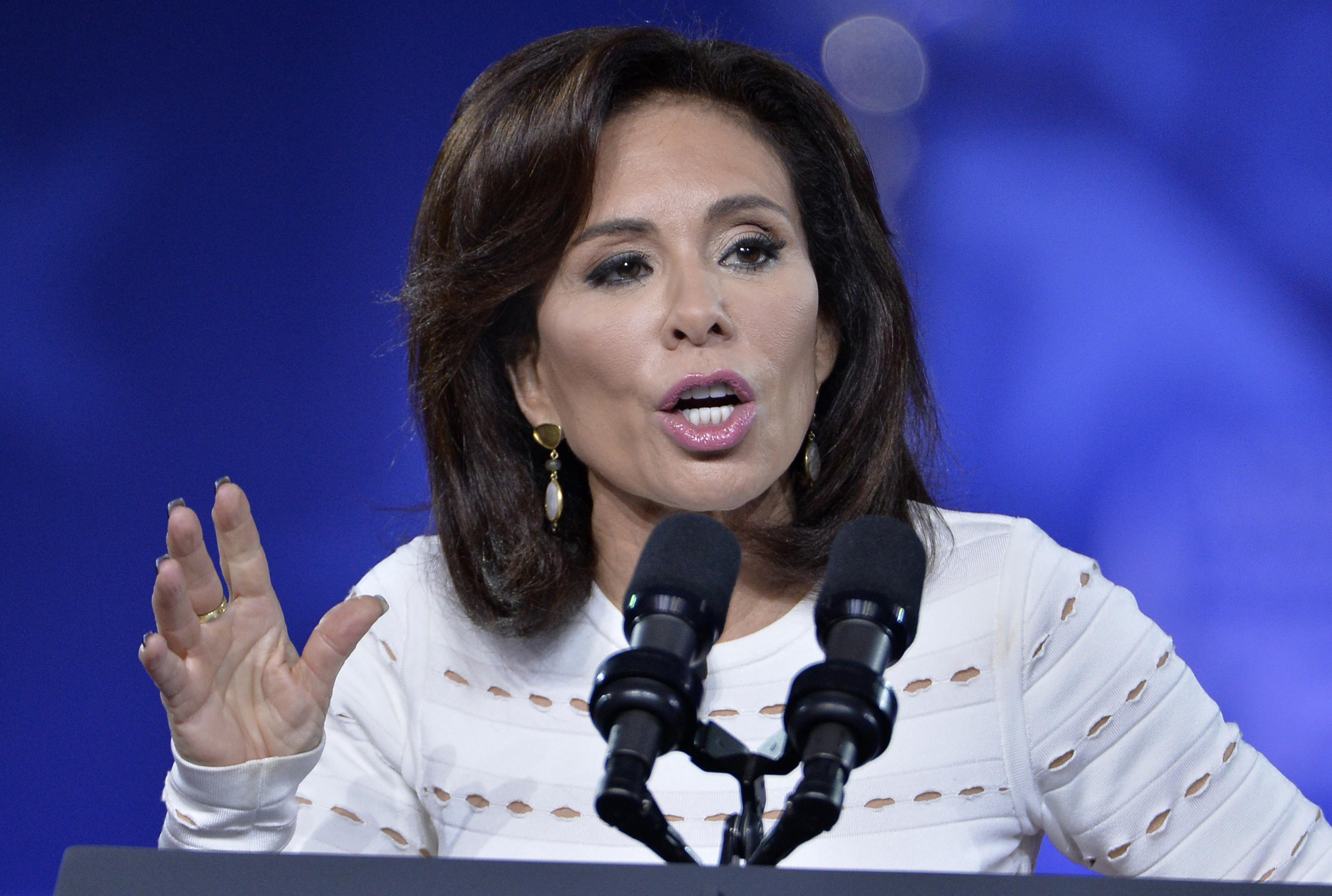 Judge Jeanine Pirro of FOX News Network makes remarks to the Conservative Political Action Conference (CPAC) at National Harbor, Maryland, February 23, 2017.