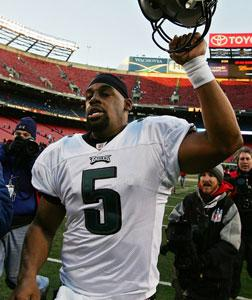 Philadelphia Eagles quarterback Donovan McNabb. Click image to expand.