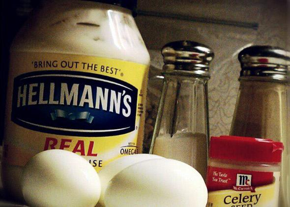 Hellmann's mayo.