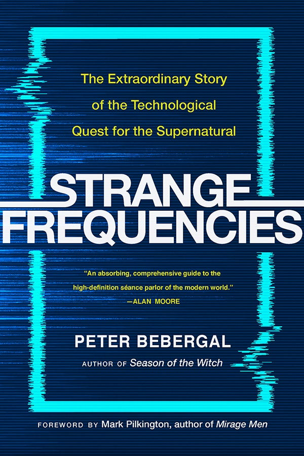 The cover of Strange Frequencies.