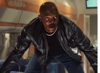 Samuel L. Jackson in Snakes on a Plane. Click image to expand for full awesomeness.