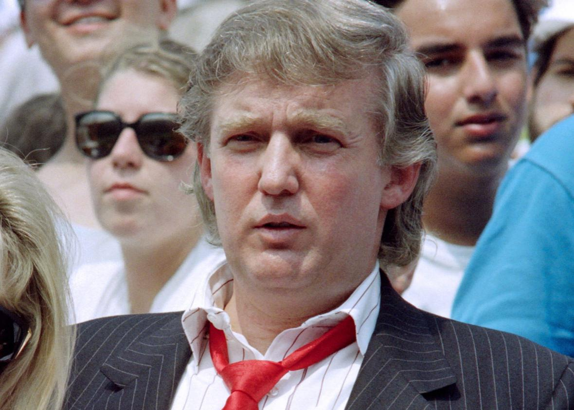 Donald Trump in 1991