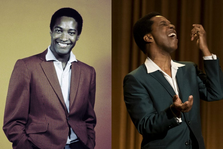 Sam Cooke, and Leslie Odom Jr. as Sam Cooke in One Night in Miami