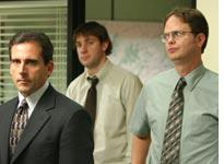 Steve Carell, John Krasinksi, and Rainn Wilson from the American version of The Office. Click image to expand.