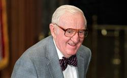 Retired US Supreme Couret Justice John Paul Stevens. Click image to expand.