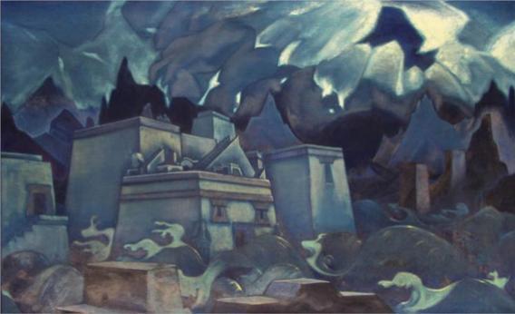 The destruction of Atlantis, 1928.