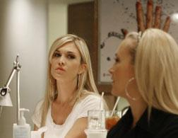Tinsley Mortimer and Dabney Mercer in High Society.