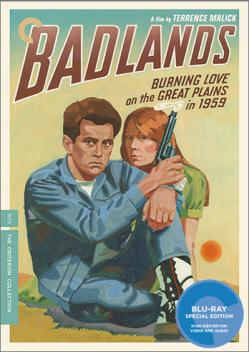 Blu-Ray special edition of Terrence Malick's Badlands.