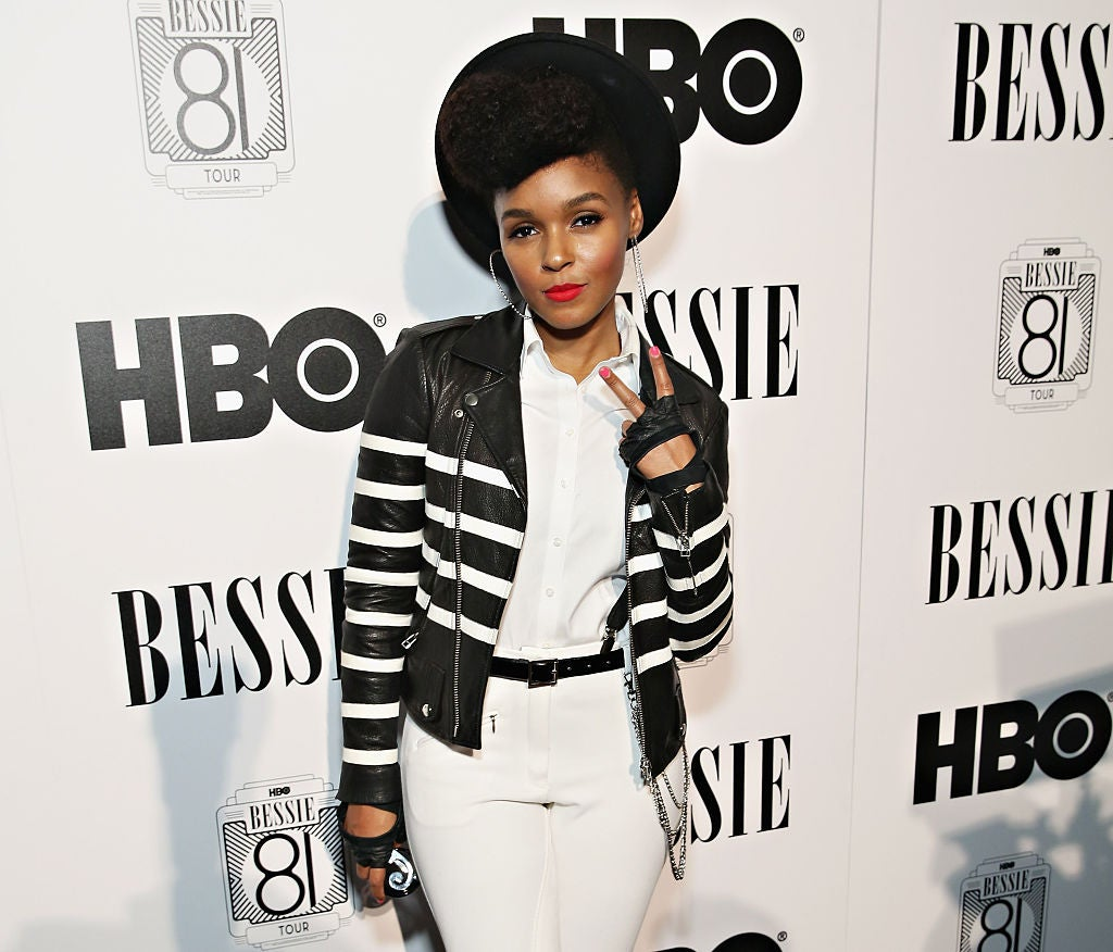 SingerJanelle Monae attends the HBO Bessie 81 Tour at Stephan Weiss Studio on April 30, 2015 in New York City.