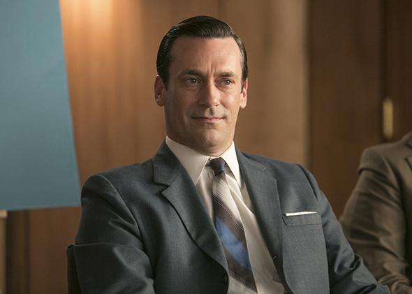Jon Hamm as Don Draper in Mad Men, Season 7, Episode 7.