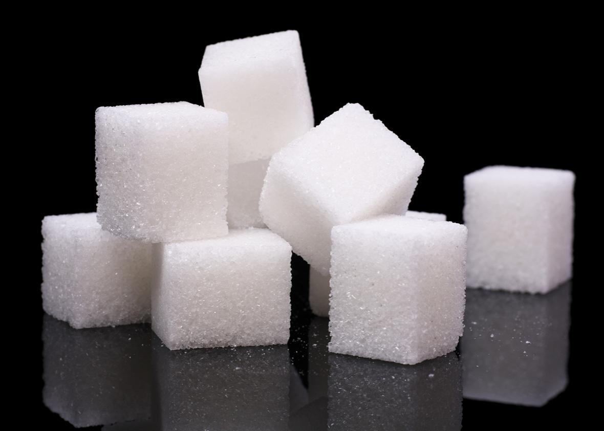 sugar cubes.