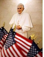 A Washington gift shop prepares For Pope Benedict XVI's visit. Click image to expand.