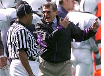 Is Paterno coming unhinged?