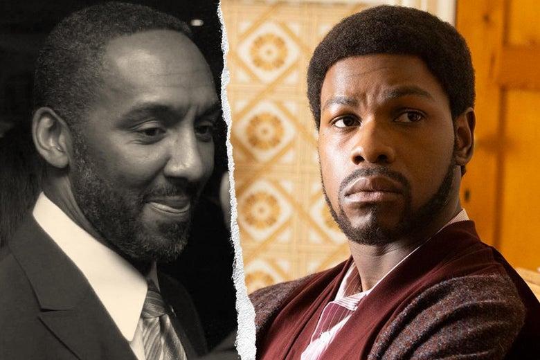 Leroy Logan and John Boyega as Leroy Logan.