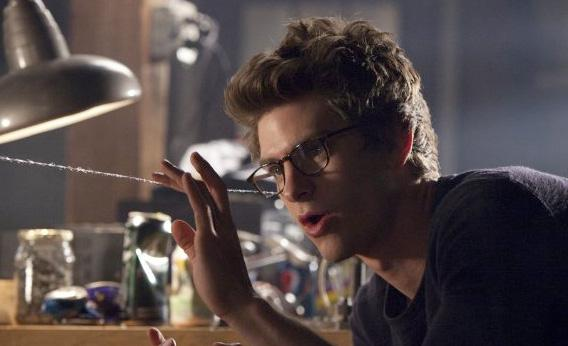 Still of Andrew Garfield in The Amazing Spider-Man