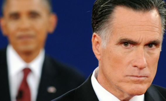 Did Romney miss a shot?