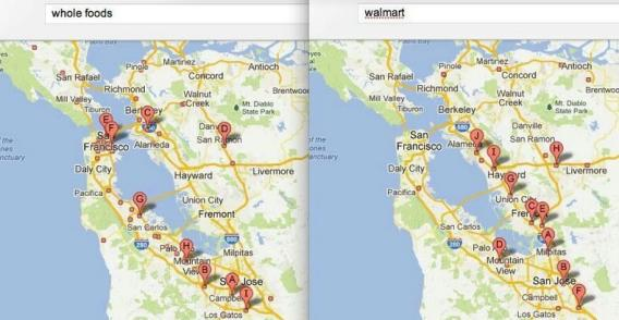 Whole Foods, Wal-Mart: Bay Area store locations (MAP)