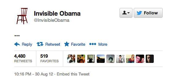 @InvisibleObama tweet