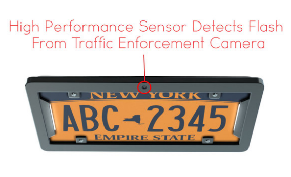 noPhoto license-plate cover