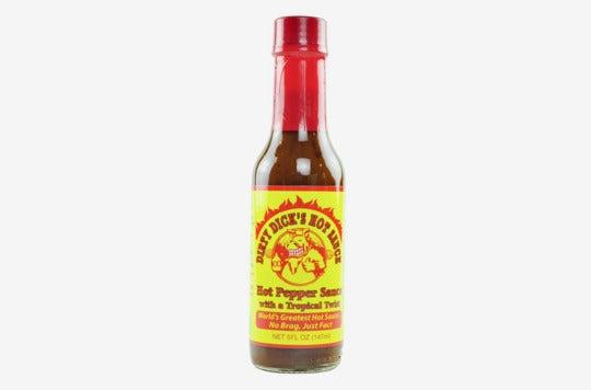 Dirty Dick's Hot Sauce.