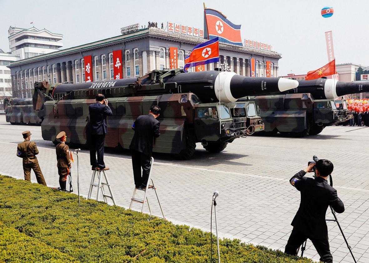 North Korea Missile Parade