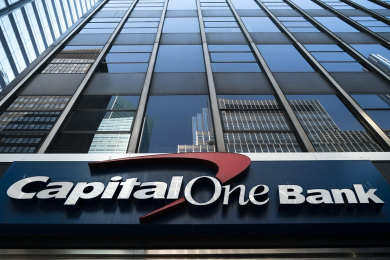 A Capital One bank.