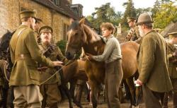 Still of Peter Mullan and Jeremy Irvine in War Horse