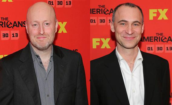The Americans' Creator Joe Weisberg (L) and Executive Producer Joel Fields