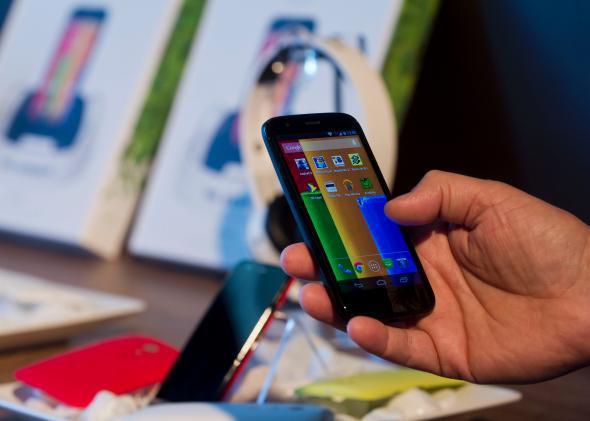 Google's Moto G budget smartphone