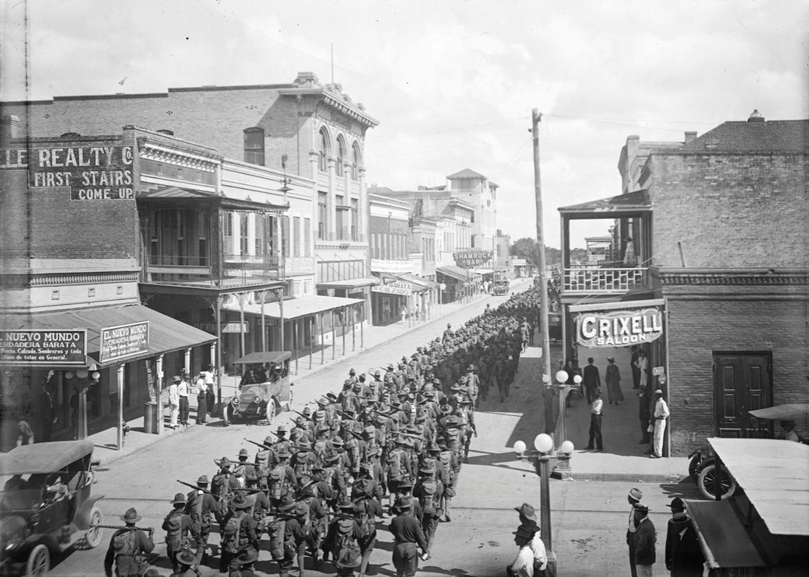 US troops in Brownsville