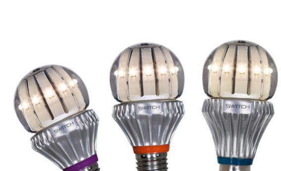 Switch LED light bulbs.