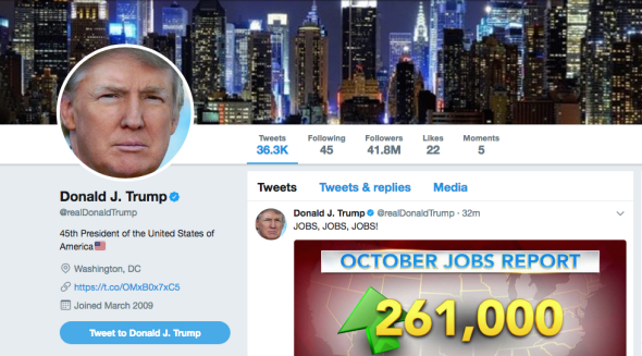 Image result for Trump twitter power