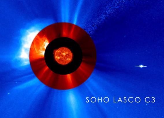 SOHO + SDO view of the Sun