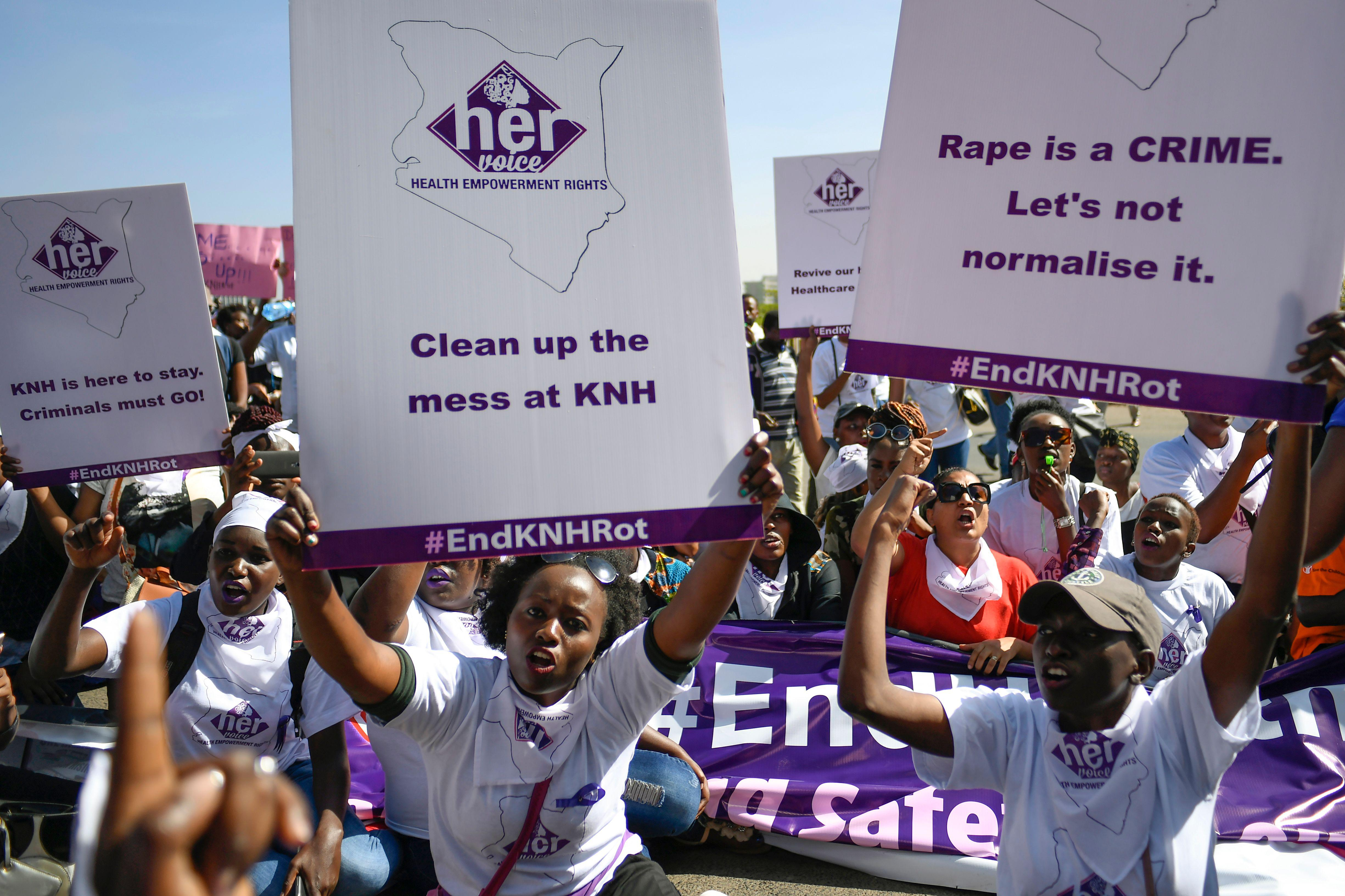 Government sexual health campaigns in kenya