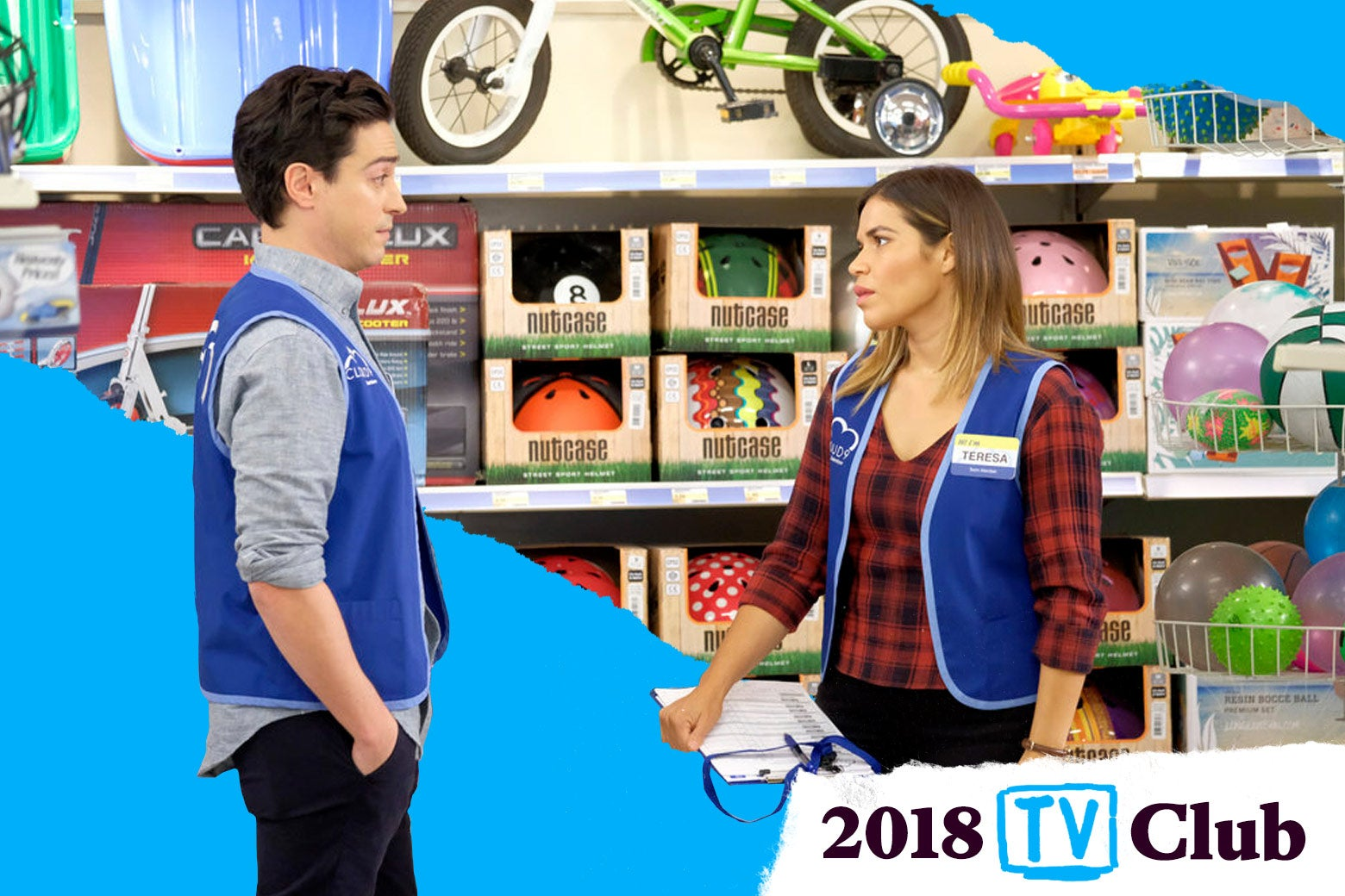A still from Superstore.