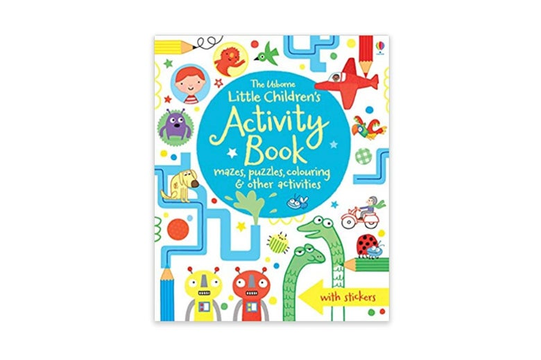 Little Children's Activity Book cover