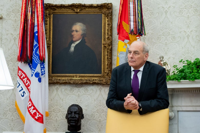 "John Kelly: I Warned Trump He Would Be Impeached If He Hired ""Yes Man"" as Chief of Staff"