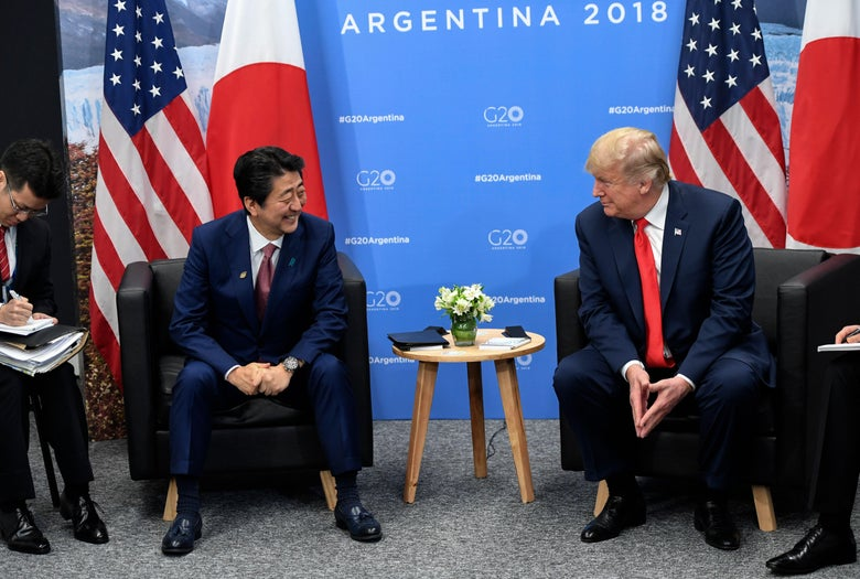 Japan Nominated Trump for Nobel Peace Prize Because White House Asked