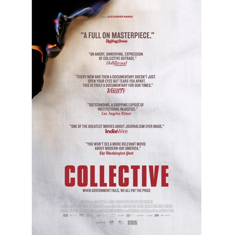 The poster for Collective.