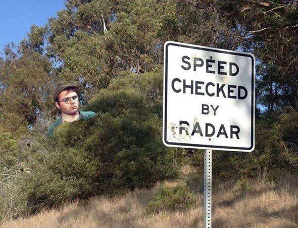 Radar trap