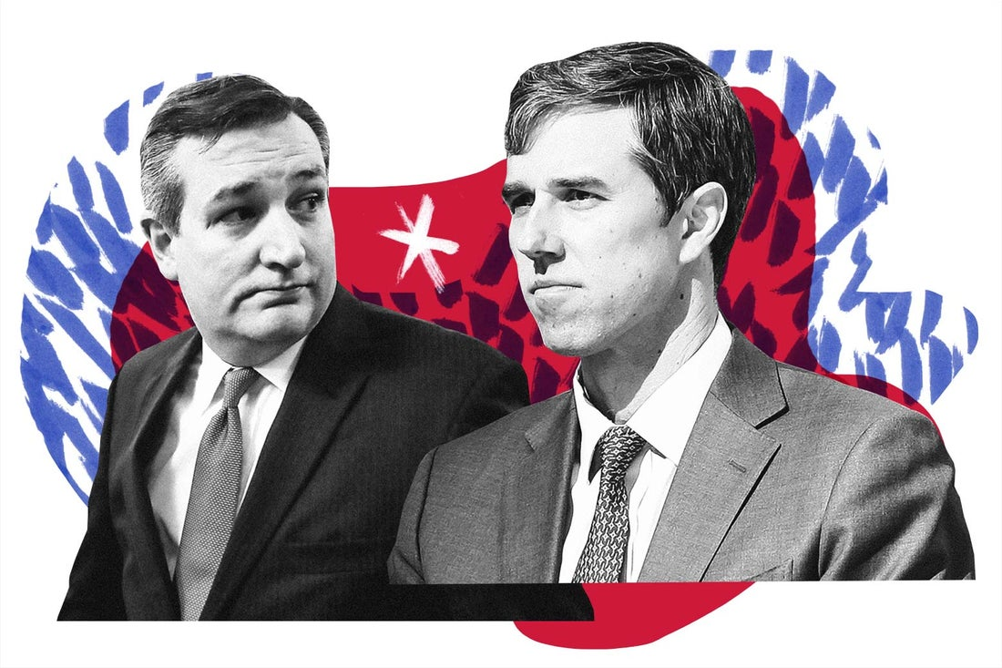 Ted Cruz and Beto O'Rourke.