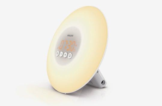 Philips Wake-Up Light Alarm Clock With Sunrise Simulation.