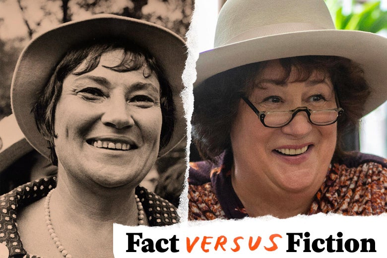Bella Abzug and Margo Martindale.