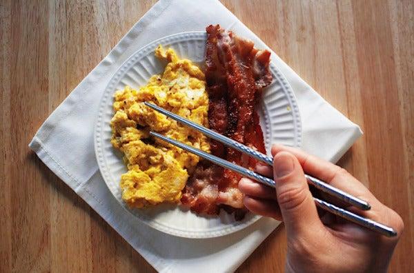 Happy Sales 10-Piece Metal Chopsticks.