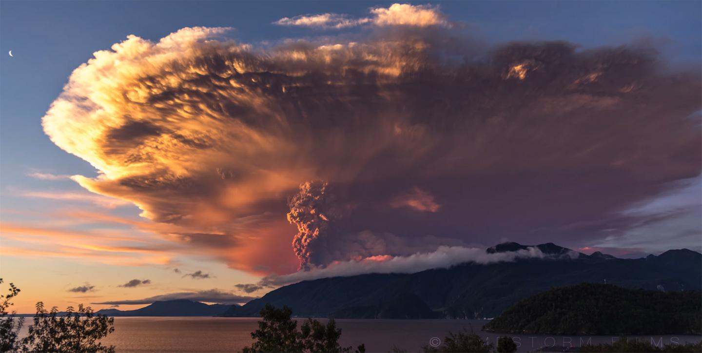 Calbuco eruption