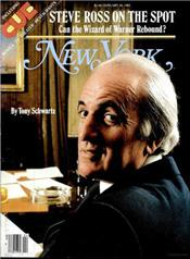 Ross on the cover of New York magazine. Click image to expand.