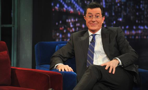 Stephen Colbert uses secret super PAC funds to donate to a campaign finance reform group.