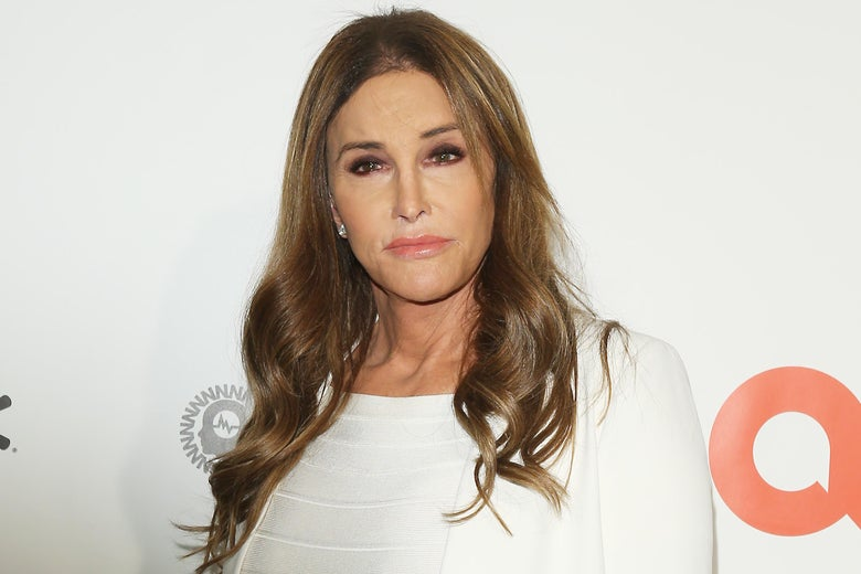 Caitlyn Jenner attends the 28th Annual Elton John AIDS Foundation Academy Awards Viewing Party on February 9, 2020 in West hollywood, California.