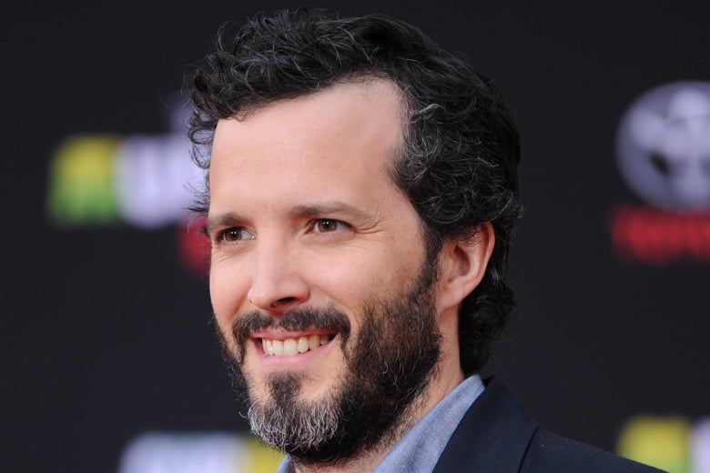 Bret McKenzie photographed at a movie premiere.